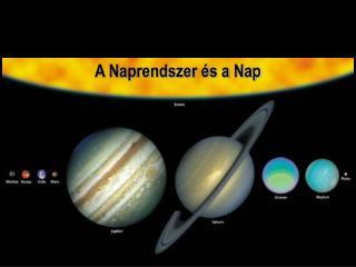 A Naprendszer és a Nap