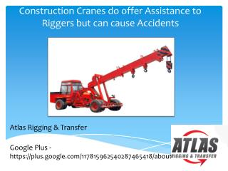 Crane Operator's Requirements and Duties during Operation