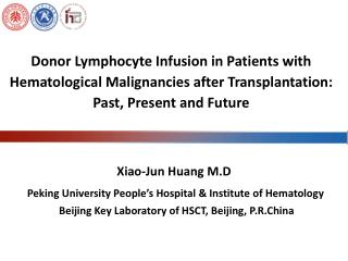 Peking University People�s Hospital & Institute of Hematology