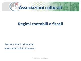 Associazioni culturali