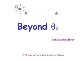 APS Neutrino Study: Reactor Working Group