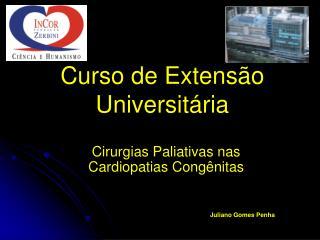 Curso de Extensão Universitária