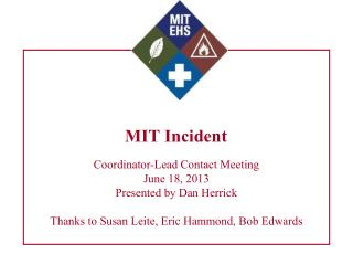 MIT Incident