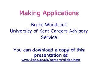 Making Applications