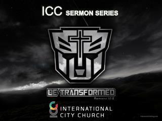 ICC  SERMON  SERIES