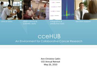 cceHUB An Environment for Collaborative Cancer Research