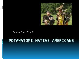 Potawatomi Native Americans