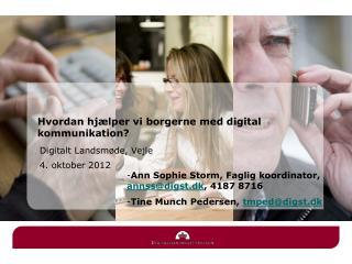 Digitalt Landsmøde, Vejle 4. oktober 2012