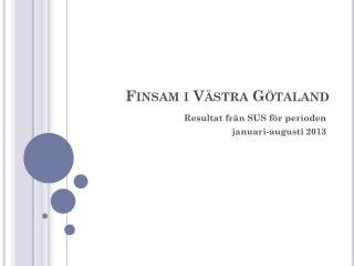 Finsam i Västra Götaland
