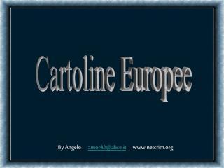 Cartoline Europee