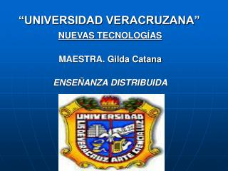 """UNIVERSIDAD VERACRUZANA"""