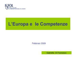 L�Europa e  le Competenze