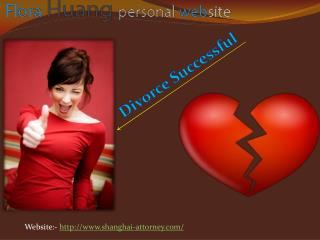 Role of Divorce Lawyer in China