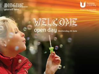 Open Day Wednesday  20th  June  2012