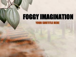 FOGGY IMAGINATION