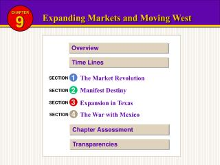 Expanding Markets and Moving West