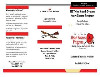 NE Triba l Healt h System  Hear t  Saver s  Program