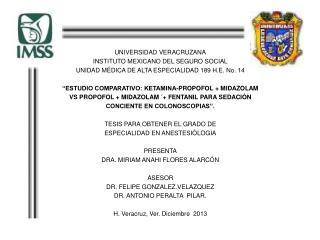 UNIVERSIDAD VERACRUZANA INSTITUTO MEXICANO DEL SEGURO SOCIAL