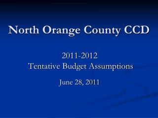 North Orange County CCD