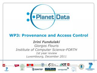 WP3: Provenance and Access Control