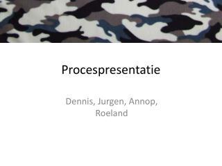 Procespresentatie