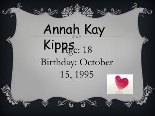 Annah Kay Kipps