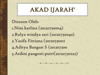 AKAD  I JARAH '