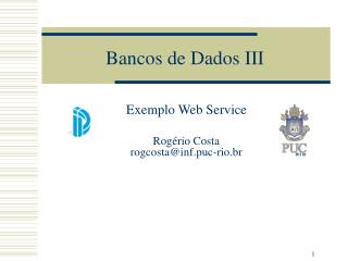 Bancos de Dados III