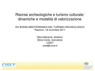 Ampia crescita della domanda di beni culturali in Italia :
