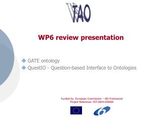 WP6 review presentation