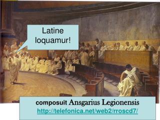 Latine loquamur!