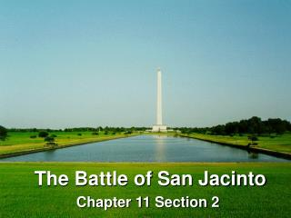 The Battle of San Jacinto