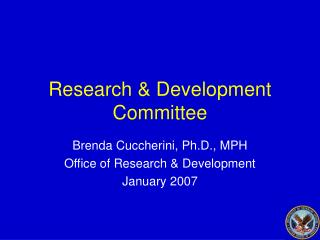 Research & Development Committee