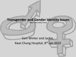 Transgender and Gender Identity Issues higher central academic course