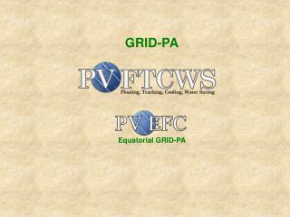 Equatorial GRID-PA