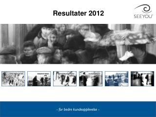Resultater 2012