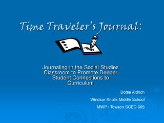 Time Traveler's Journal :