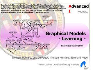 Graphical Models - Learning -