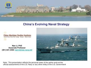 China s Evolving Naval Strategy