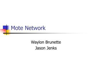 Mote Network