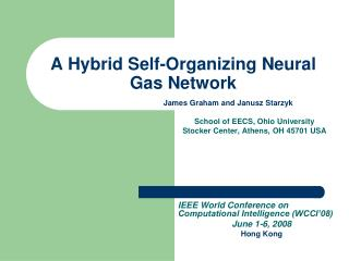 A Hybrid Self-Organizing Neural Gas Network