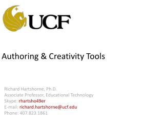 Authoring & Creativity Tools