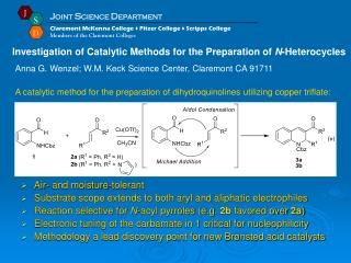 Air- and moisture-tolerant Substrate scope extends to both aryl and aliphatic electrophiles