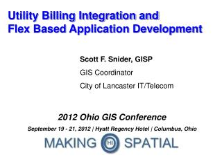 Utility Billing Integration and Flex Based Application Development