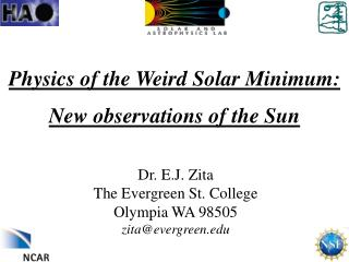 Physics of the Weird Solar Minimum: New observations of the Sun