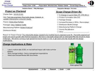 Project Name: Mountain Dew �Sidekick� Bottle