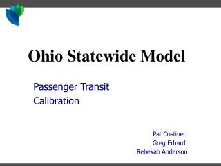 Ohio Statewide Model