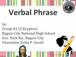 Verbal  Phrase