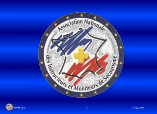 ANIMS Association Nationale  des Instructeurs et Moniteurs de Secourisme