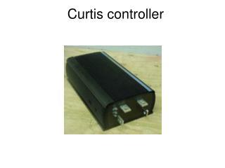 Curtis controller